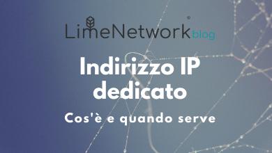 Photo of Indirizzo IP dedicato: quando serve