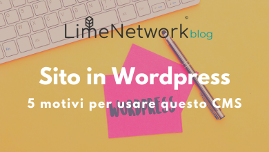 Photo of 5 buoni motivi per fare un sito in Wordpress